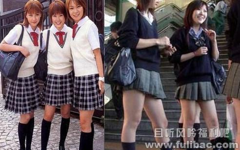 为什么日本女生都爱穿超短裙