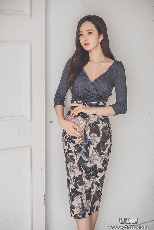包臀裙要这样穿才能显示出你是真正的美女